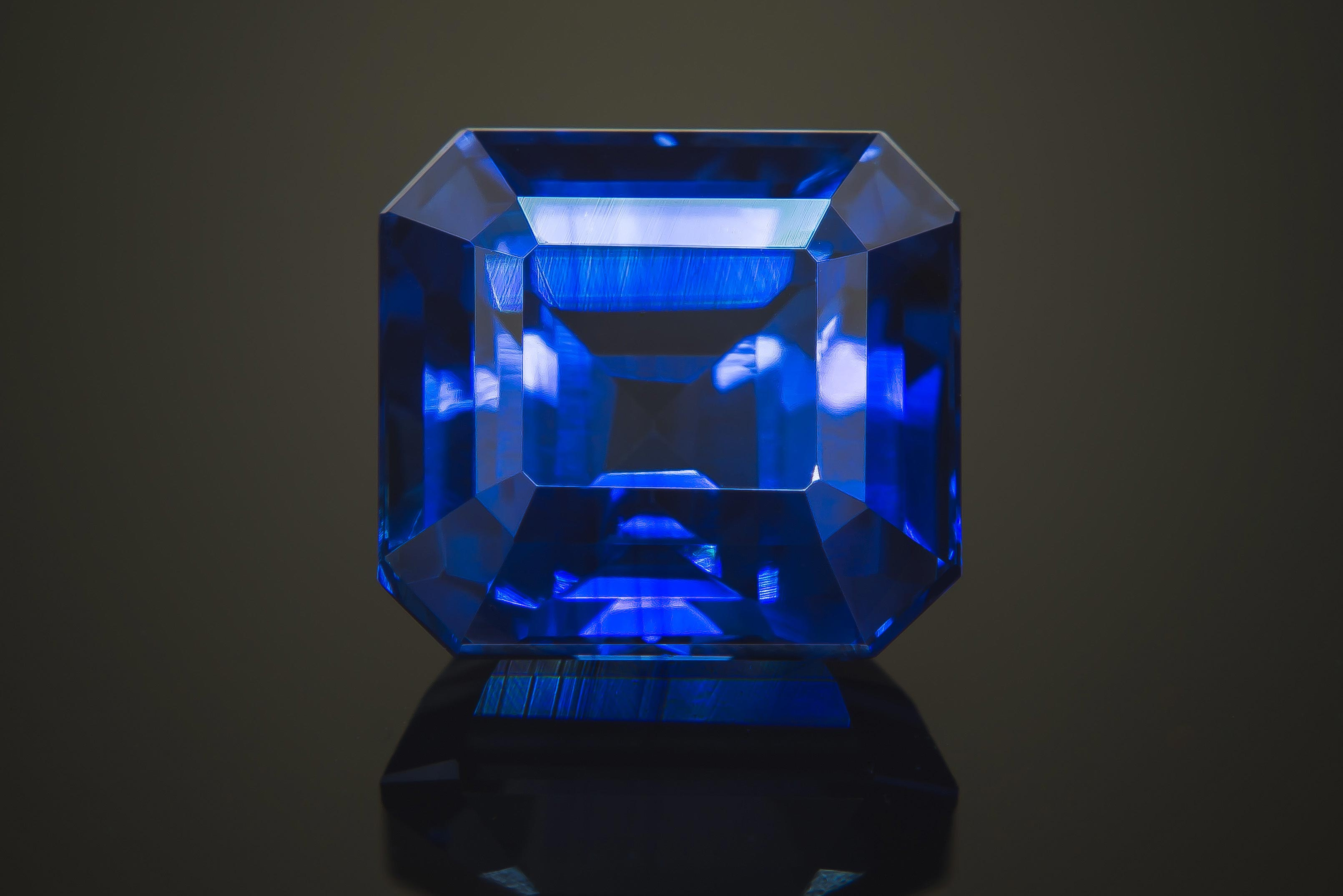fullxfull listing il emerald cut pale unheated ceylon sapphire natural blue untreated