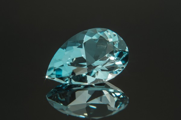 When beryl crosses from less green to more blue, it becomes aquamarine - and typically the more blue, the more valuable.